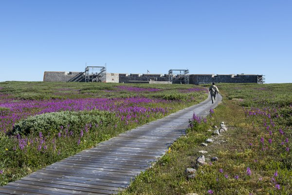 Prince of Wales Fort in Churchill, Manitoba.