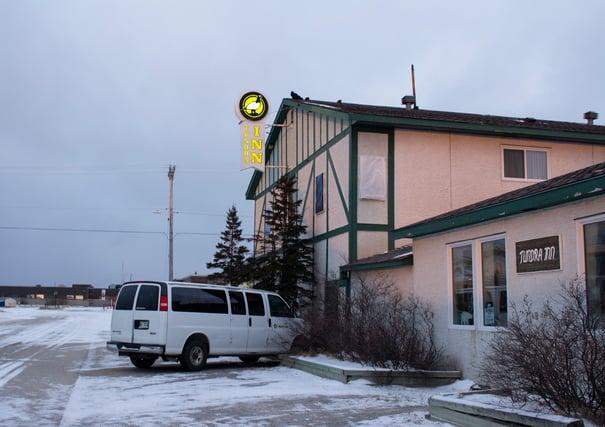 The Tundra Inn in Churchill, Canada