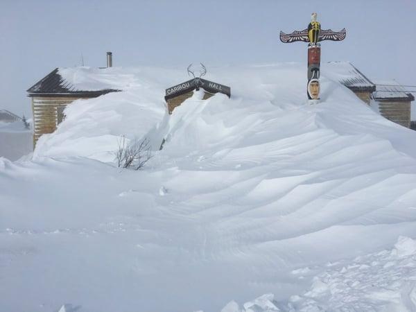 Historic blizzard in Churchill